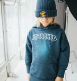 Minikid DARK BLUE HOODIE | HOODED SWEATER | COOL KIDS CLOTHING
