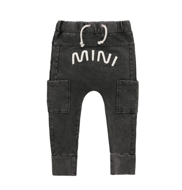 Minikid JOGGER ACID BLACK MINI