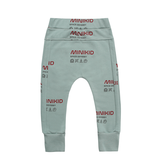Minikid MINT GREEN JOGGING PANTS | COMFORTABEL JOGGERS | BOYSWEAR