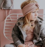 Wooly Organic CHILDREN'S HAIRBAND | HEADBAND FOR GIRLS | DUSTY PINK