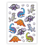 Ducky Street DINO TATTOO -  Sticker Kinder tatoeages met water afneembaar