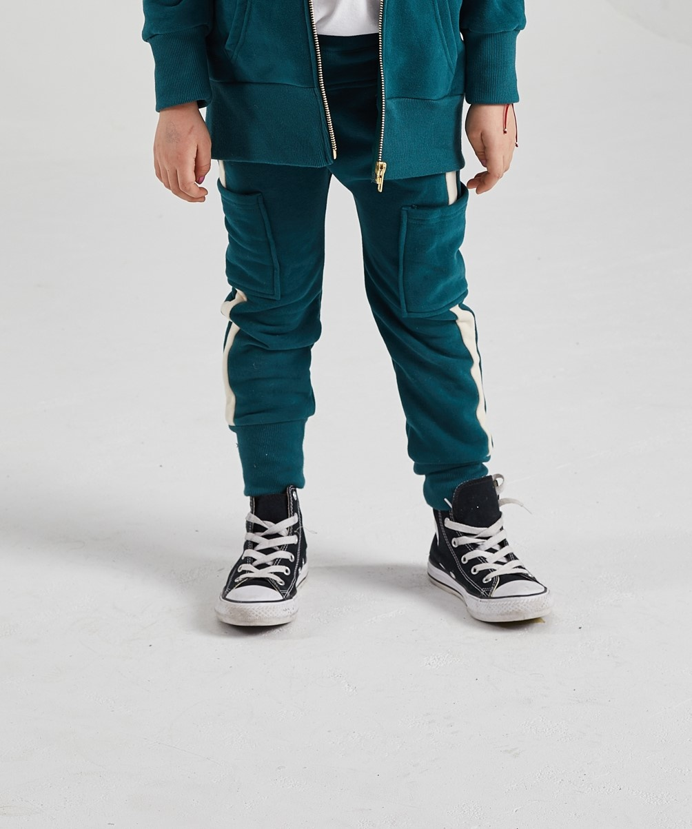Minikid DARK GREEN JOGGING PANTS | COMFORTABEL JOGGERS | BOYSWEAR