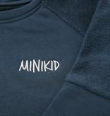 Minikid DARK BLUE SWEATER | UNISEX SWEATER WITH FRONT POCKET | MINIKID