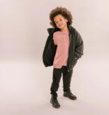 No Labels Kidswear OUDROZE LONGSLEEVE |   SHIRT MET LANGE MOUWEN | KINDERKLEDING