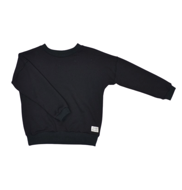 No Labels Kidswear SWEATER BLACK