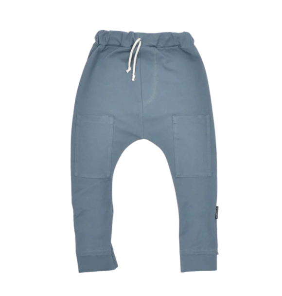 No Labels Kidswear HAREM DENIM GREY