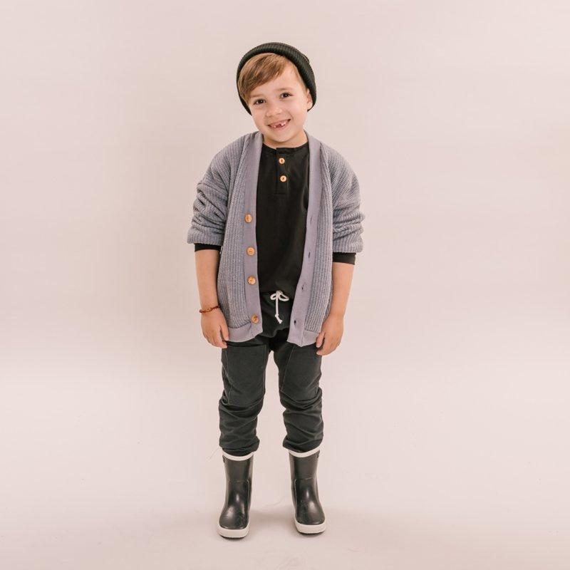 No Labels Kidswear UNISEX KINDERKLEDING | LANGER VALLEND VEST | STOERE VEST VOOR KINDEREN