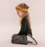 No Labels Kidswear FLARED BROEK MET LUIPAARD PRINT | STOERE BROEK VOOR MEISJES | kinderkleding