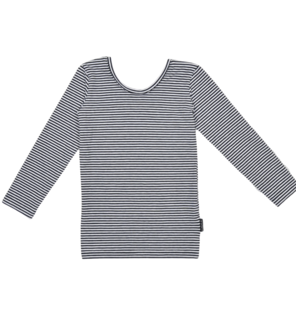 No Labels Kidswear LOW BACK SHIRT STRIPED