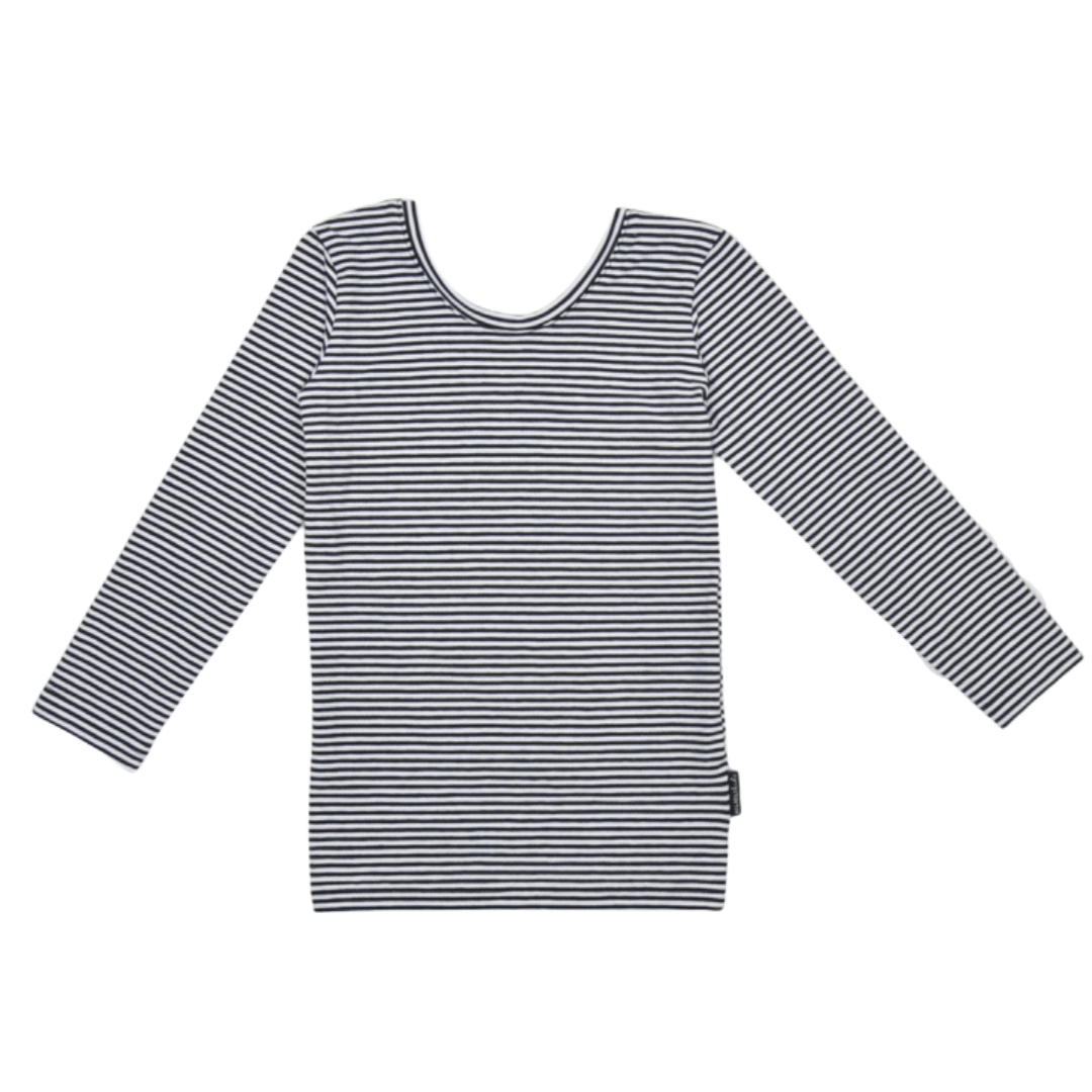 No Labels Kidswear SHIRT WITH LOW BACK | STRIPED LONGSLEEVE FOR GIRLS | NO LABELS KIDSWEAR