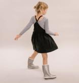 No Labels Kidswear SHIRT MET LAGE RUG | GESTREEPTE LONGSLEEVE VOOR MEISJES | NO LABELS KIDSWEAR
