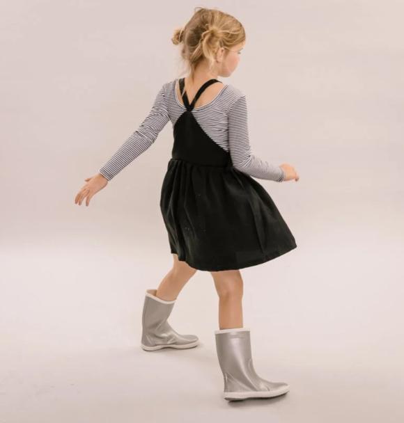 No Labels Kidswear SALOPETTE DRESS