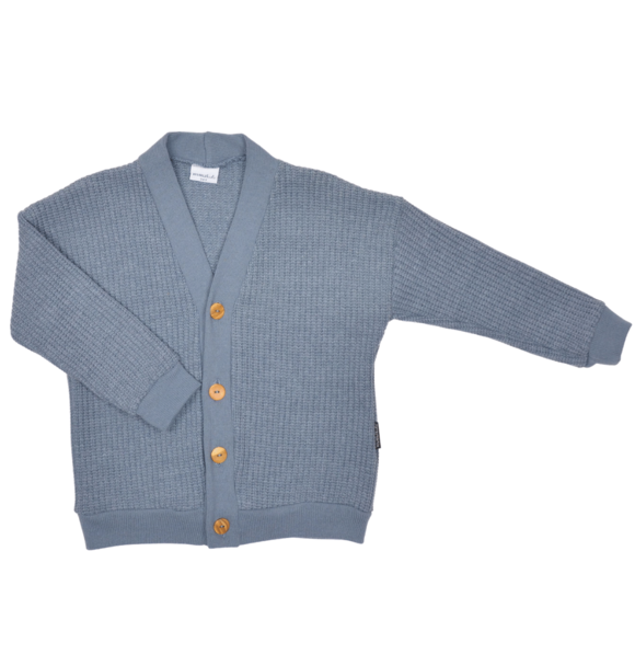 No Labels Kidswear CARDIGAN BLUE