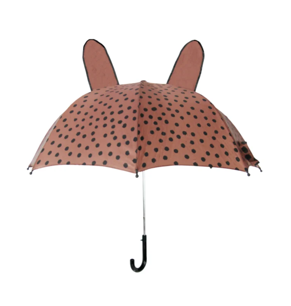 VanPauline UMBRELLA BROWNPINK DOTS