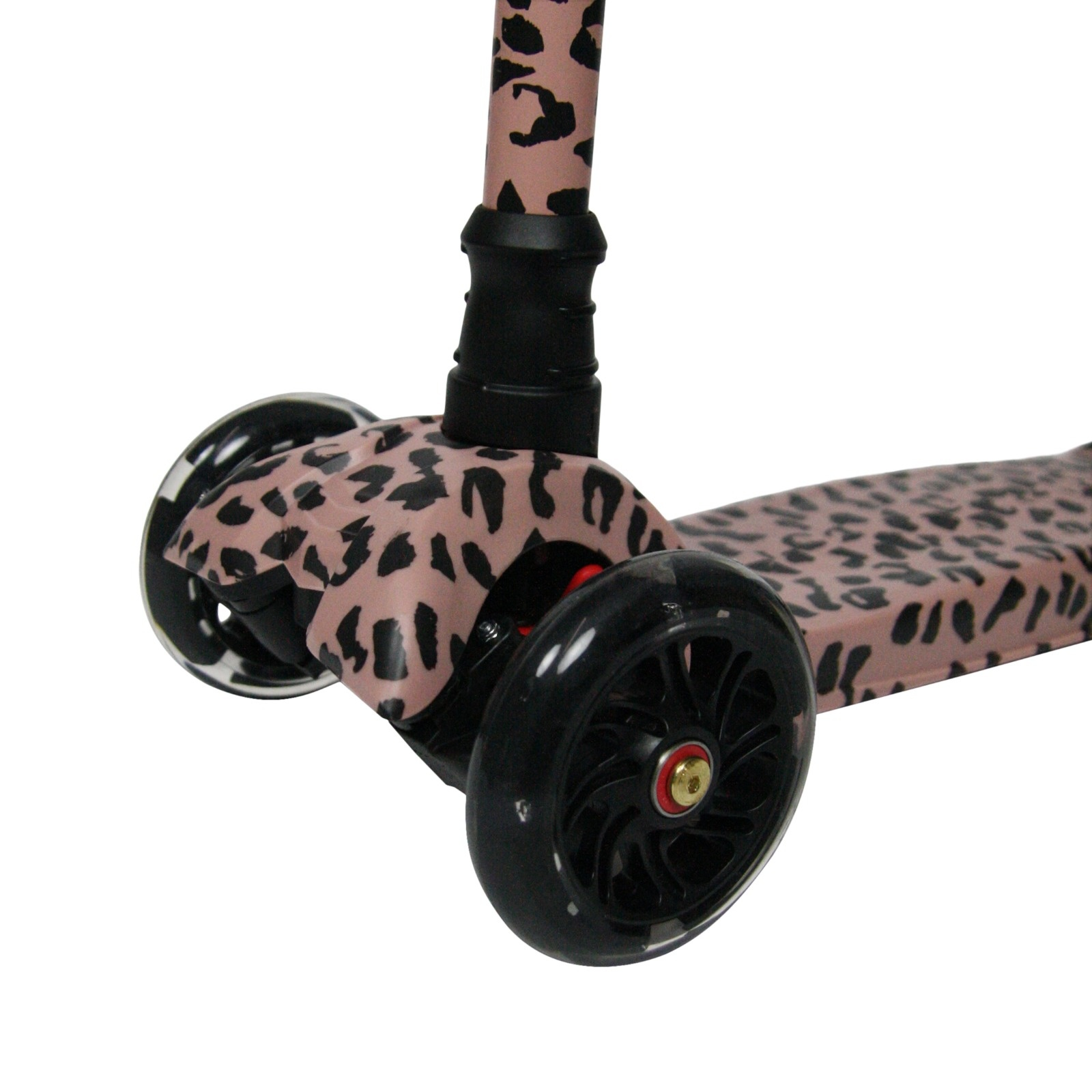 VanPauline KIDS SCOOTER WITH LEOPARD PRINT | CHILDREN'S SCOOTER FOR GIRL | TOYS