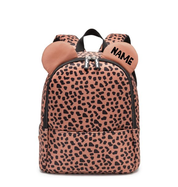 VanPauline BACKPACK BEAR CARAMEL SPOTS + NAAM