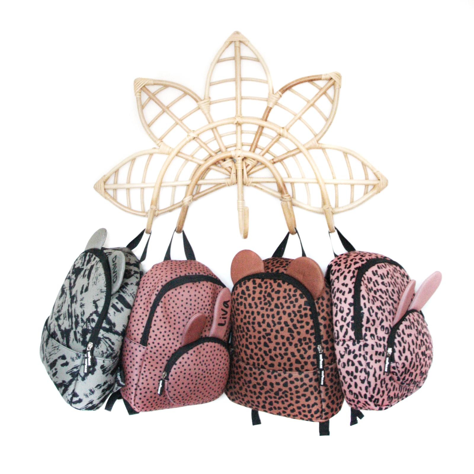 VanPauline KIDS BACKPACK | BACKPACK BUNNY PINK LEOPARD | VANPAULINE