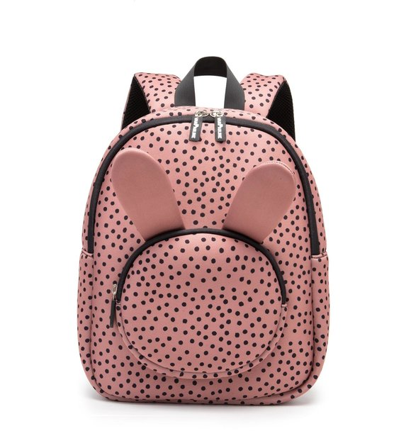 VanPauline BACKPACK BUNNY WARMPINK DOTS