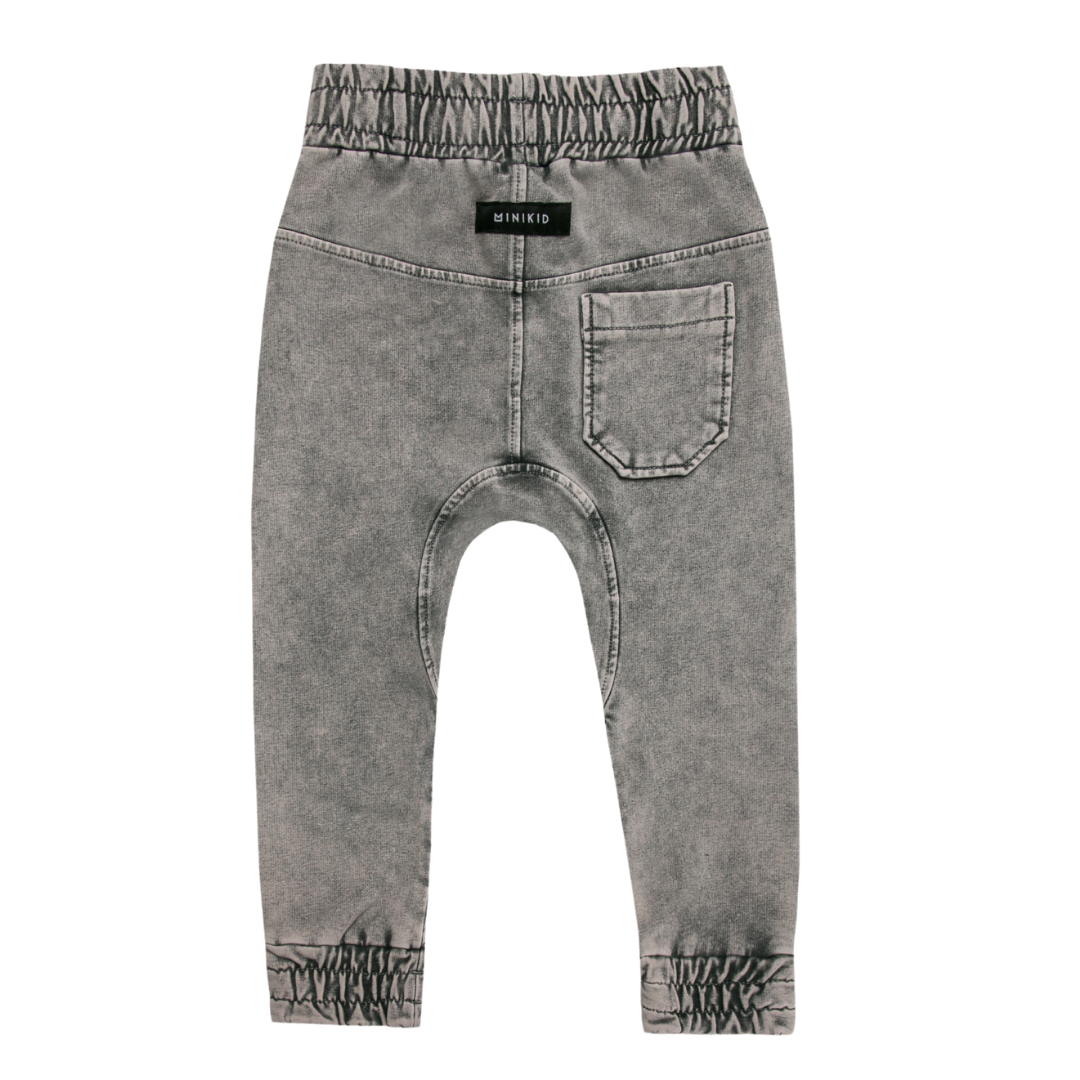 Minikid GRAY COOL JEANS | SOFT JOGGER | CHILDREN'S CLOTHING ONLINE
