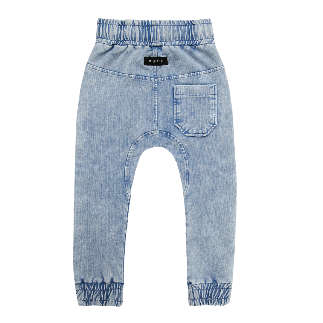 Minikid BLUE COOL JEANS | SOFT JOGGER | CHILDREN'S CLOTHING ONLINE