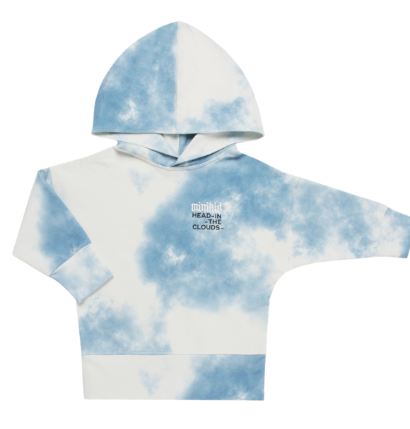 Minikid HOODIE HEAD IN THE CLOUDS