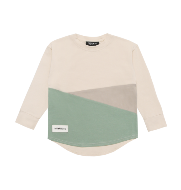 Minikid LONGSLEEVE DECONSTRUCTED GREEN