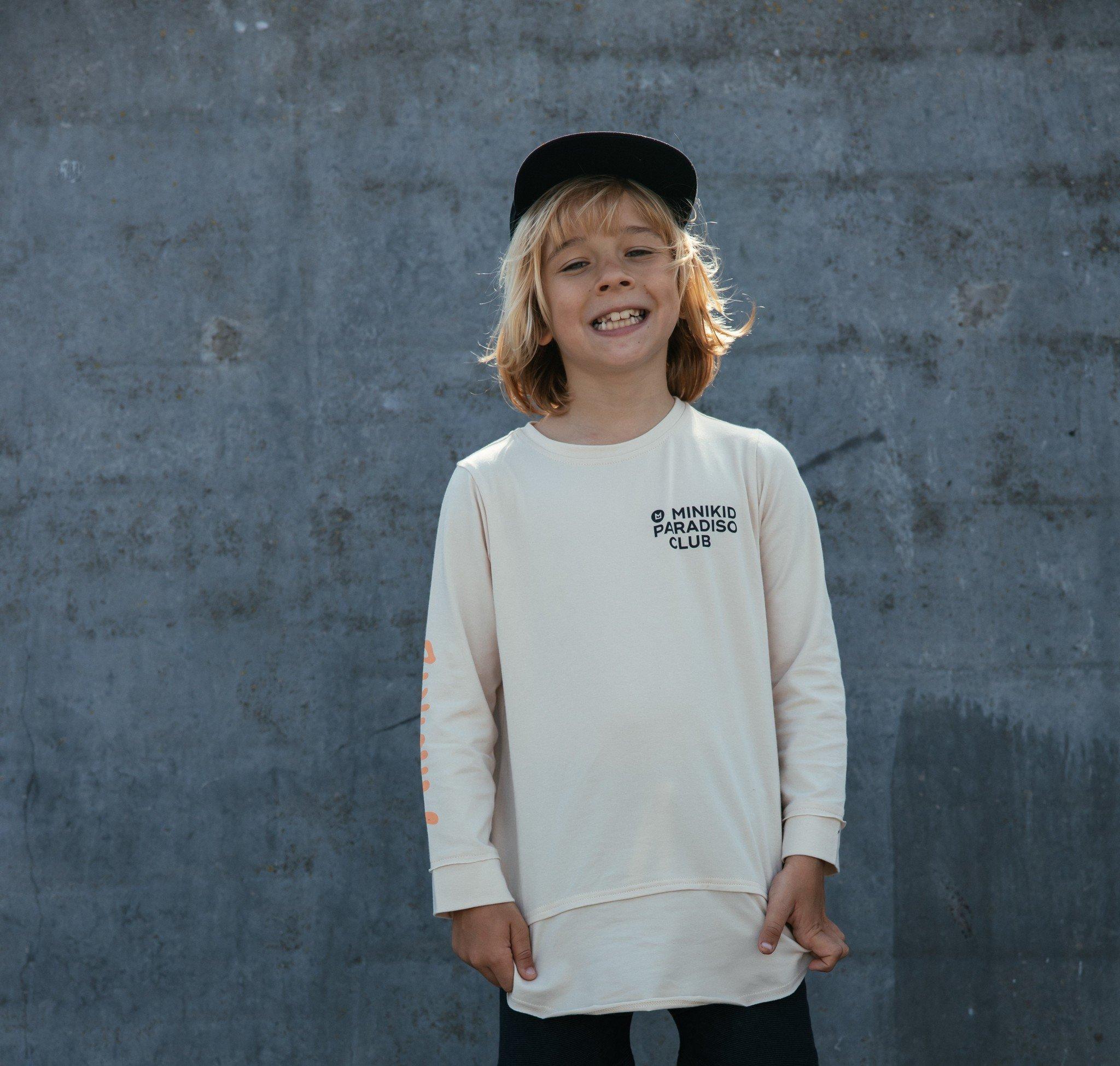 Minikid COLORFUL COOL SHIRT | LONGER LONG SLEEVE | MINIKID CHILDREN'S CLOTHES