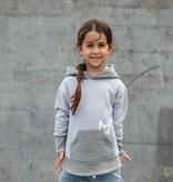 Minikid GRAY MINIKID HOODIE   HOODED SWEATER   STREETWEAR FOR KIDS