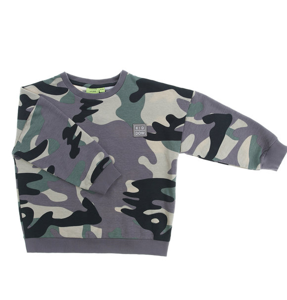 Kiddow OVERSIZED SWEATSHIRT CAMO
