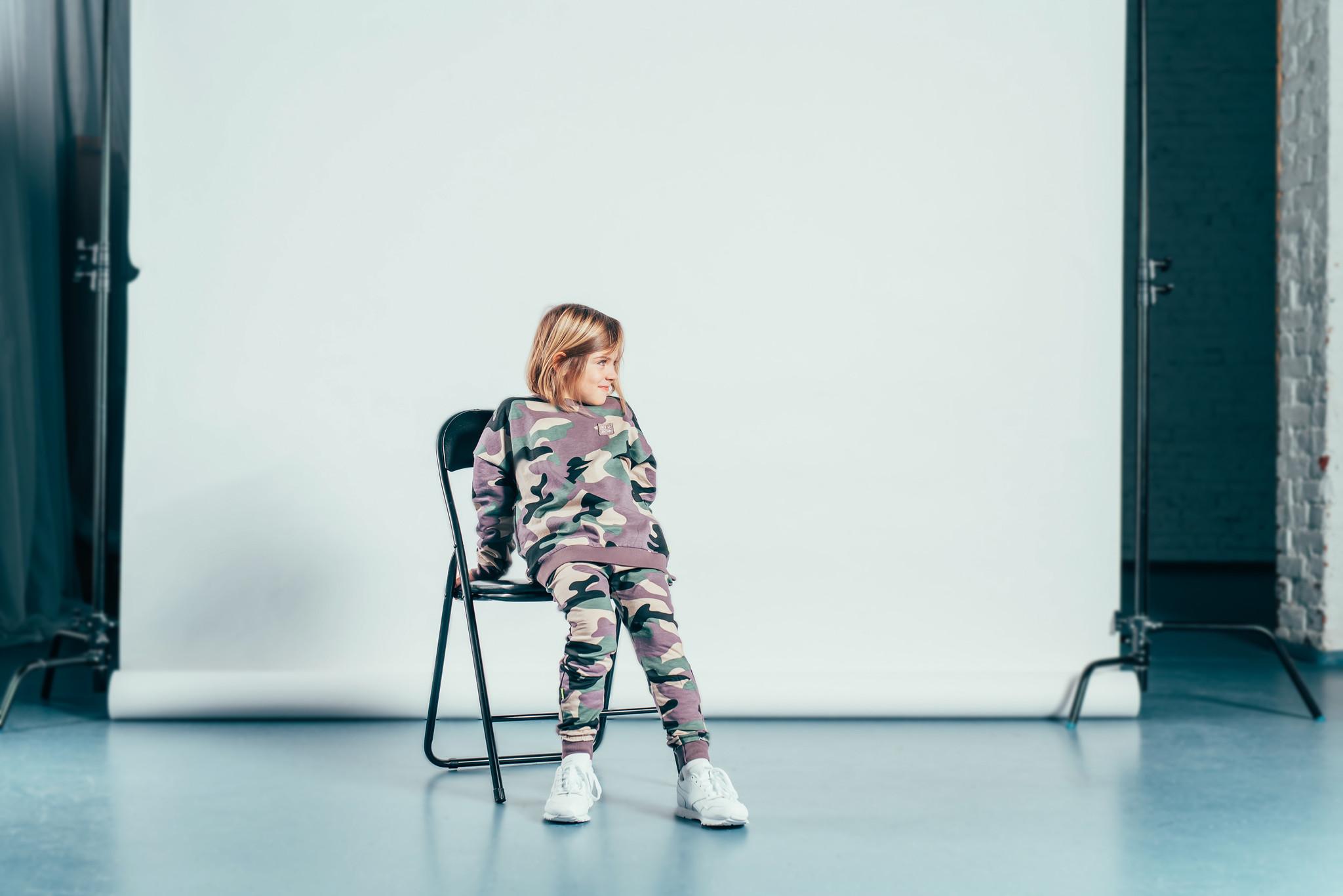 Kiddow JOGGER IN CAMOUFLAGE PRINT | KIDDOW | STREETWEAR CHILDREN'S CLOTHES
