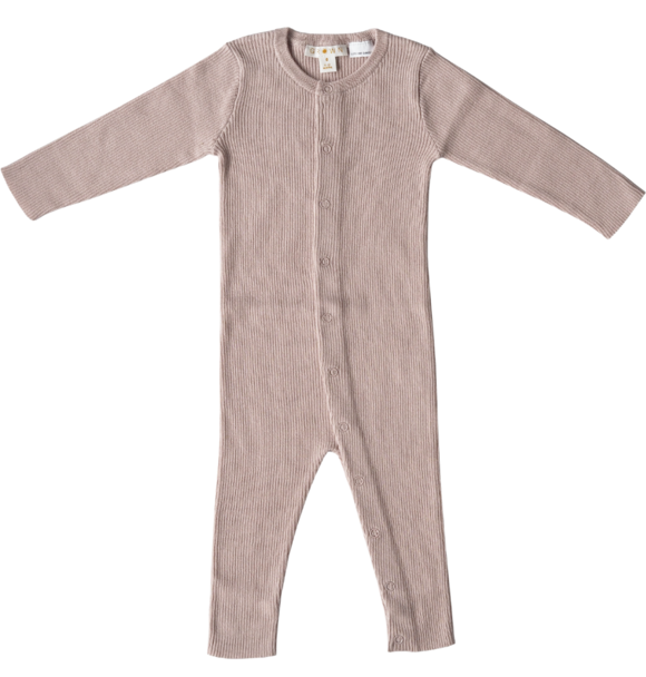 Grown KNITTED PLAYSUIT ROSE
