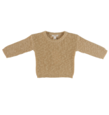 Grown LIGHT BROWN KNITTED SWEATER | KNITTED PULL OVER | BABY CLOTHING