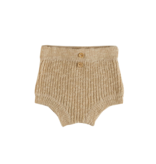 Grown LIGHT BROWN KNITTED BLOOMER | KNITTED SHORT PANTS | BABY CLOTHING