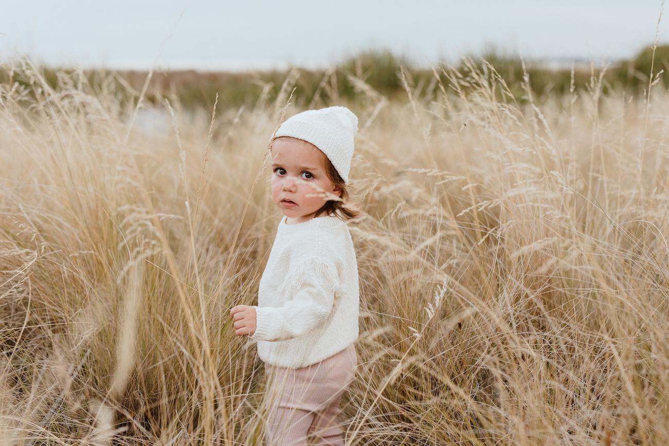 Grown GEBREIDE TRUI | GEBREIDE PULLOVER  MET FRANJES | BABYKLEDING