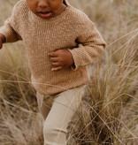 Grown FIJN GEBREIDE LEGGING   PRACHTIG BABY BROEKJE VAN RIB KATOEN
