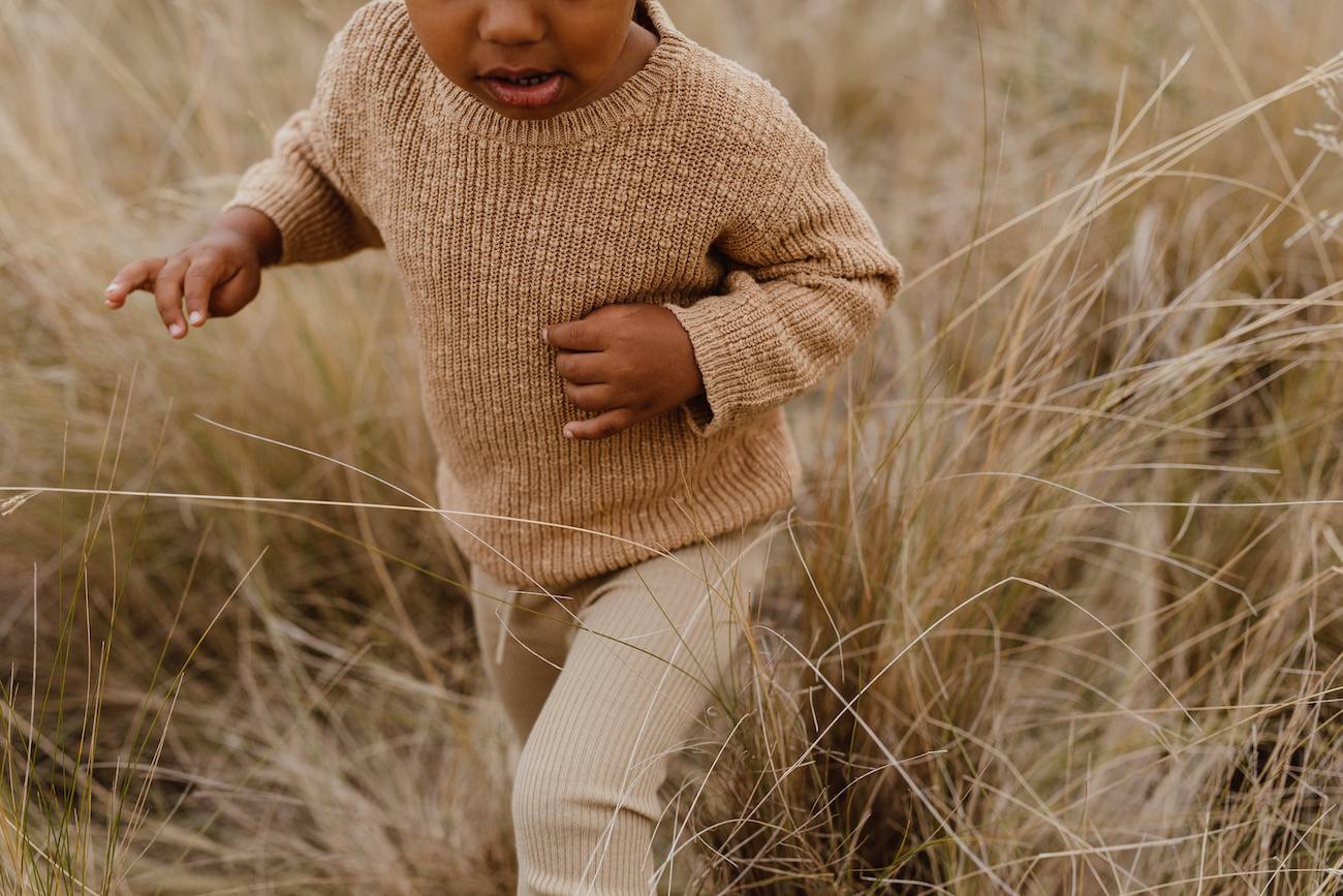 Grown  FINE KNITTED LEGGINGS   BEAUTIFUL BABY PANTS MADE OF RIBBED COTTON