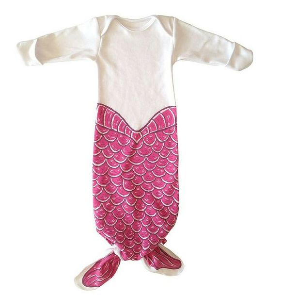 Electrik Kidz KNOTTED GOWN MERMAID PINK