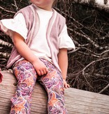 Zoofs COLORFUL FLARED PANTS | TROUSERS WITH RUNNING LEGS | girls clothes