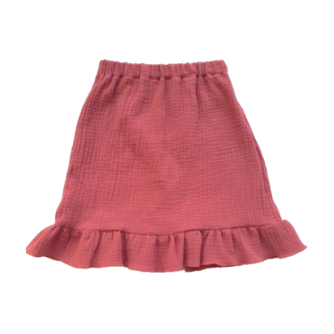 Zoofs SKIRT FOR GIRLS   MIDI SKIRT WITH MATCHING SHIRT   GIRL CLOTHES