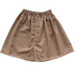 Zoofs MID-LENGTH SKIRT FOR GIRLS | BROWN SKIRT | GIRL CLOTHES