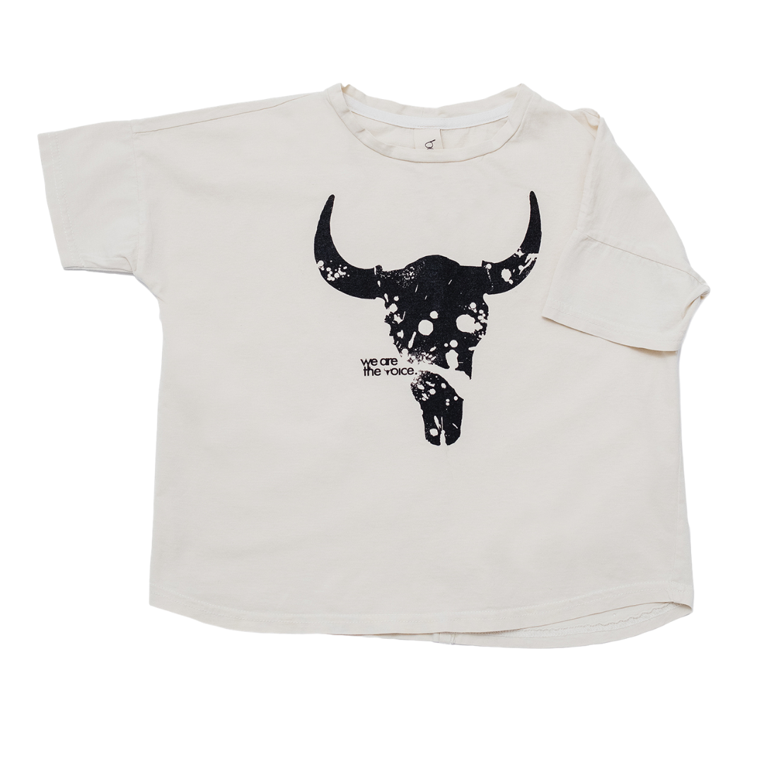 Booso WIDE BISON TEE