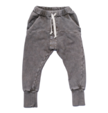 Booso GREY STRIPED ACID PANTS