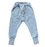 Booso BLUE STRIPED ACID PANTS