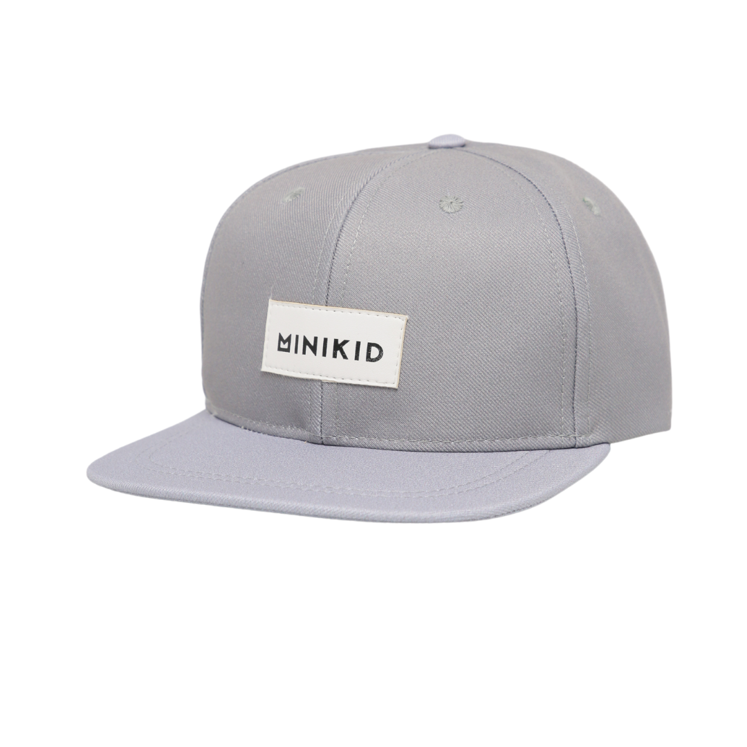 Minikid GRAY CHILDREN'S CAP | TOUGH CAP | SNAPBACK FOR CHILDREN