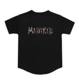 Minikid T-SHIRT MET LUIPAARDPRINT | ZWARTE KINDERKLEDING | MINIKID