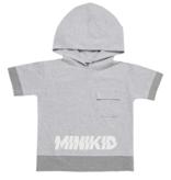 Minikid T-SHIRT MET CAPUCHON | STOERE KINDERKLEDING | ZOMERKLEDING