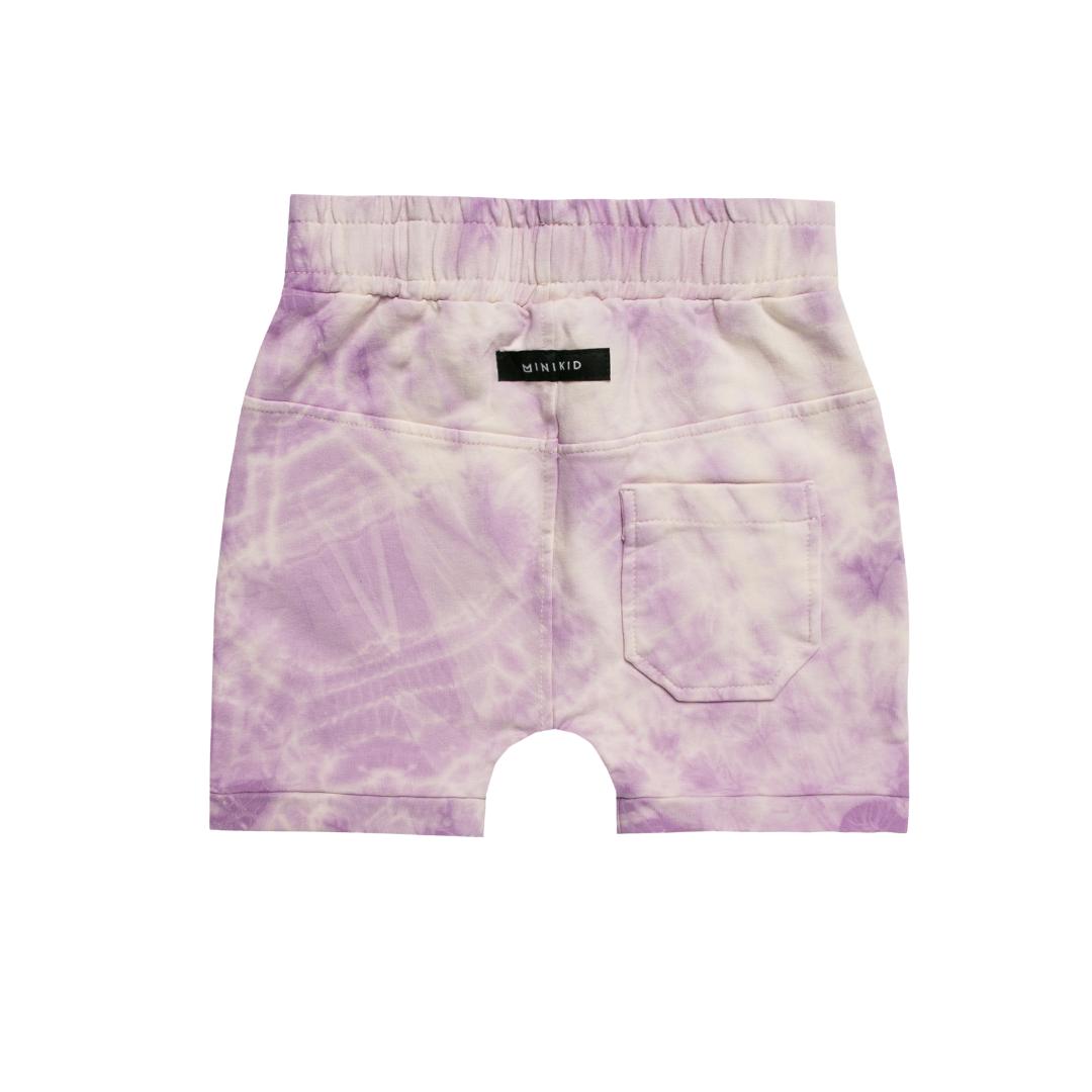 Minikid SHORT PANTS WITH TIE DYE PRINT   COOL SHORTS   CHILDREN'S CLOTHES