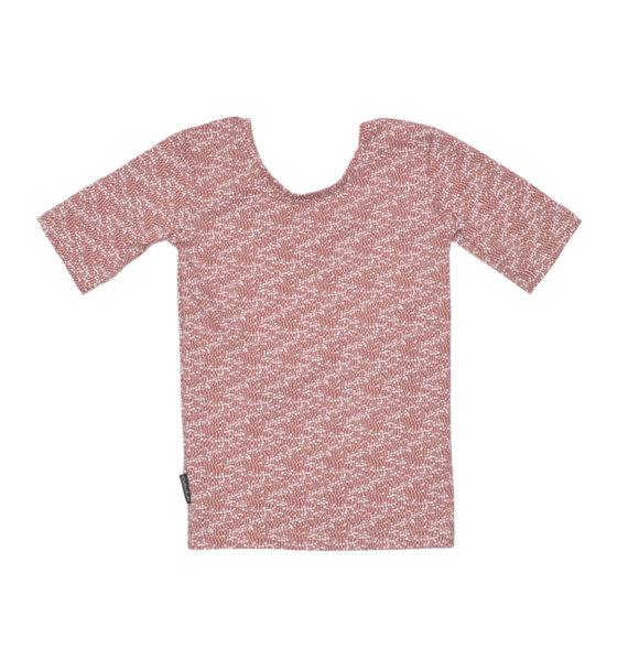 No Labels Kidswear LOW BACK SHIRT TERRA PRINT