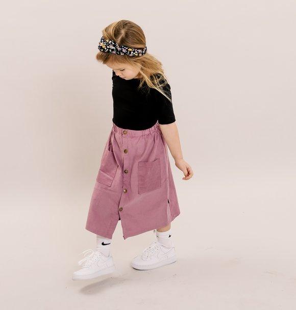 No Labels Kidswear MAXI SKIRT LILA