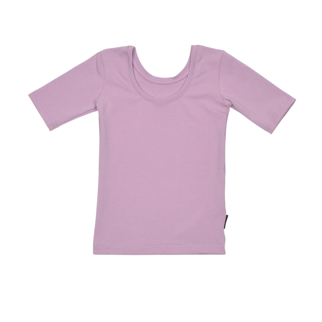 No Labels Kidswear SHIRT WITH LOW BACK | COOL PURPLE SHIRT | GIRL CLOTHES